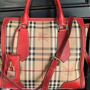 COPY - Burberry Haymarket handbag